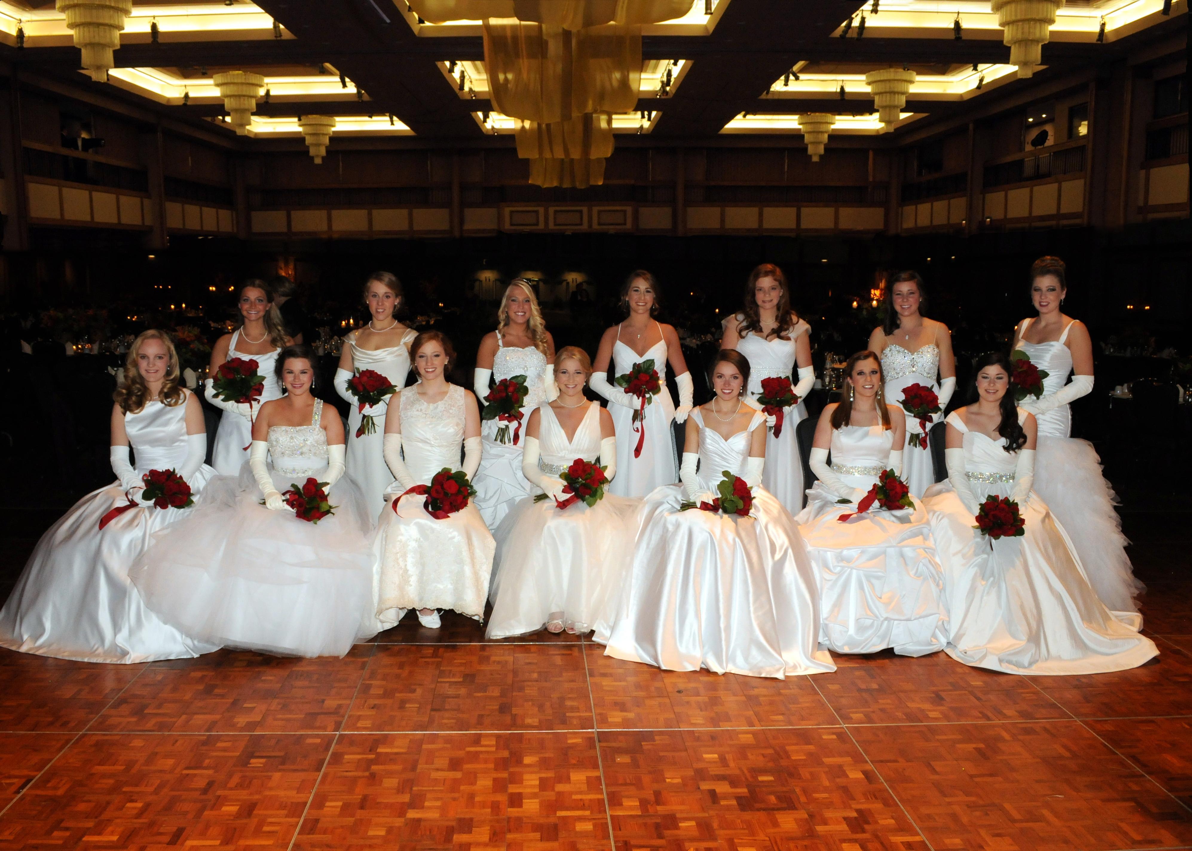 2013 Huntsville Symphony Orchestra Debutantes Group 3