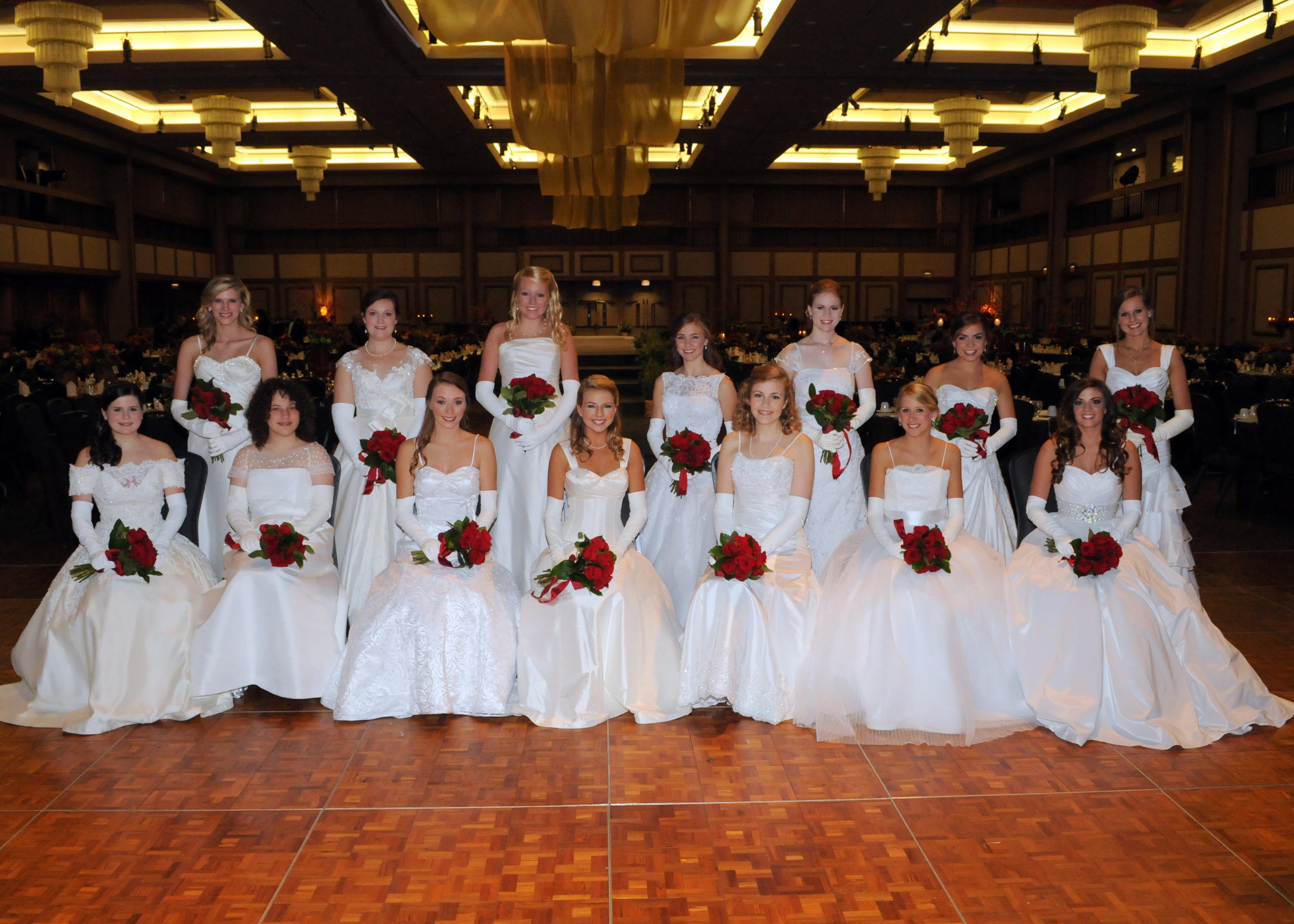 2013 Huntsville Symphony Orchestra Debutantes Group 1