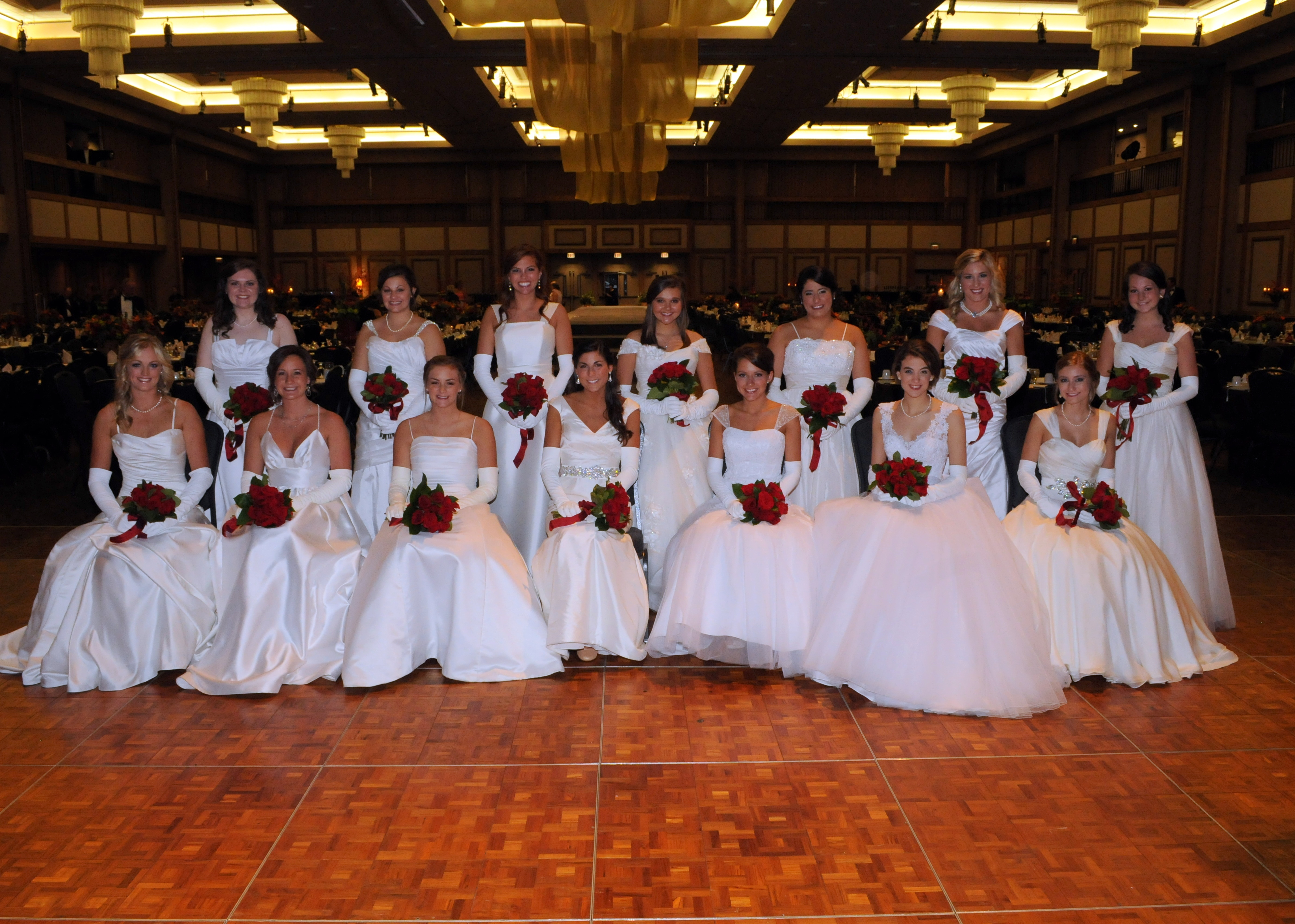 2013 Huntsville Symphony Orchestra Debutantes Group 2