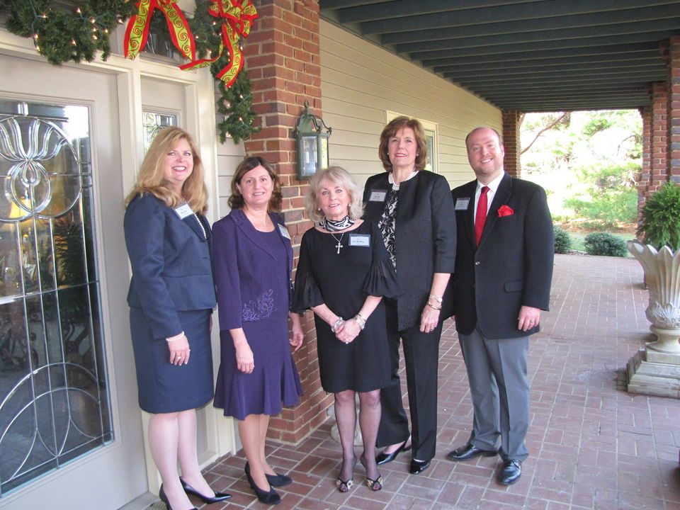 Theresa Taylor, Deborah Brown, Jan McMurray, Beth Wise, Joe Lee.