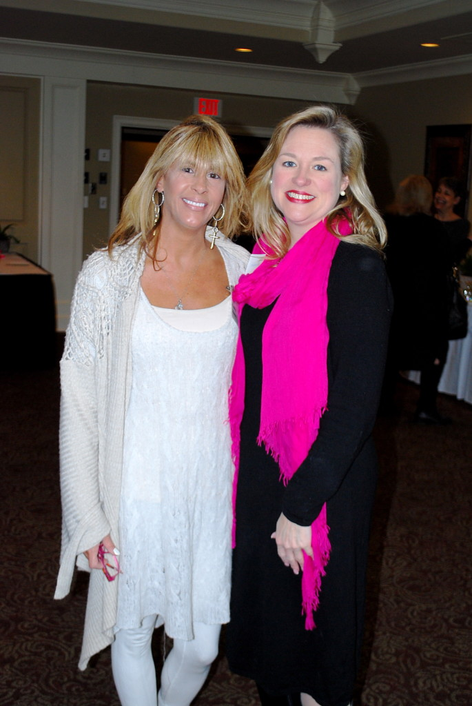 Cynthia Masucci with new member, Jennifer Doss