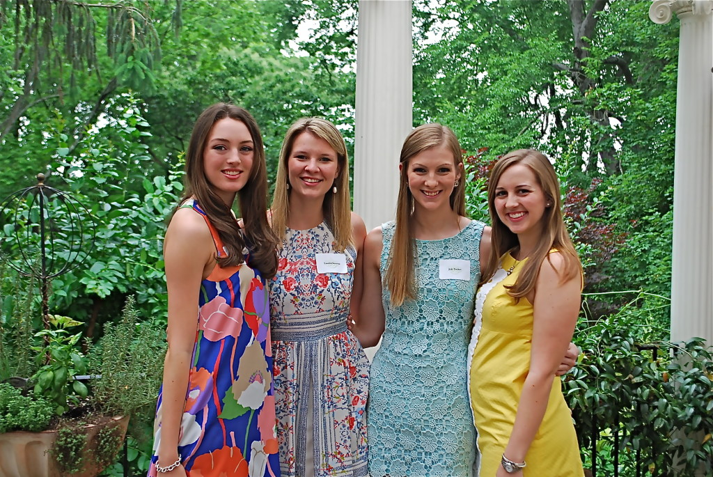 Leah Honkanen, Lauren Stevens, Joie Tucker, Mary Morgan Plott