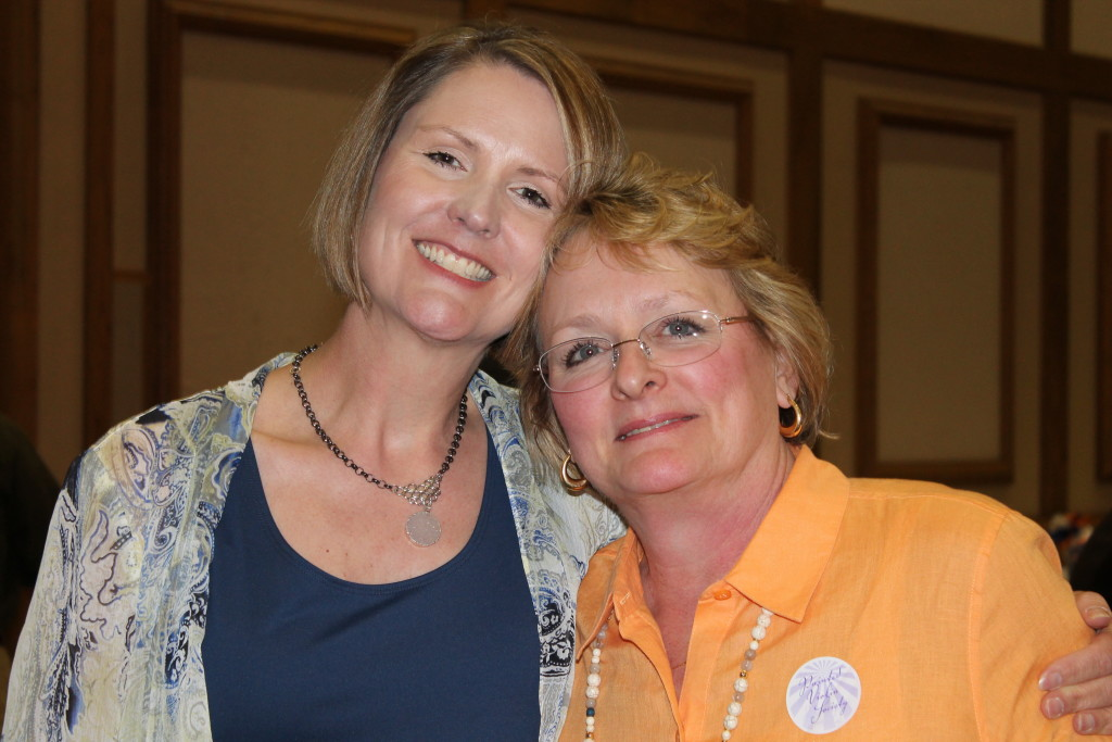 This year's Crescen-Dough Auction Chairmen:  Cheryl Bence, Co-Chair; Julie Malone, Chair