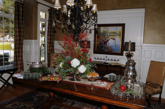 The 2015 Huntsville Symphony Orchestra Guild's Silver Tea was held at the lovely home of Mr. and Mrs. Michael William Wicks on Eagles Ridge Place.