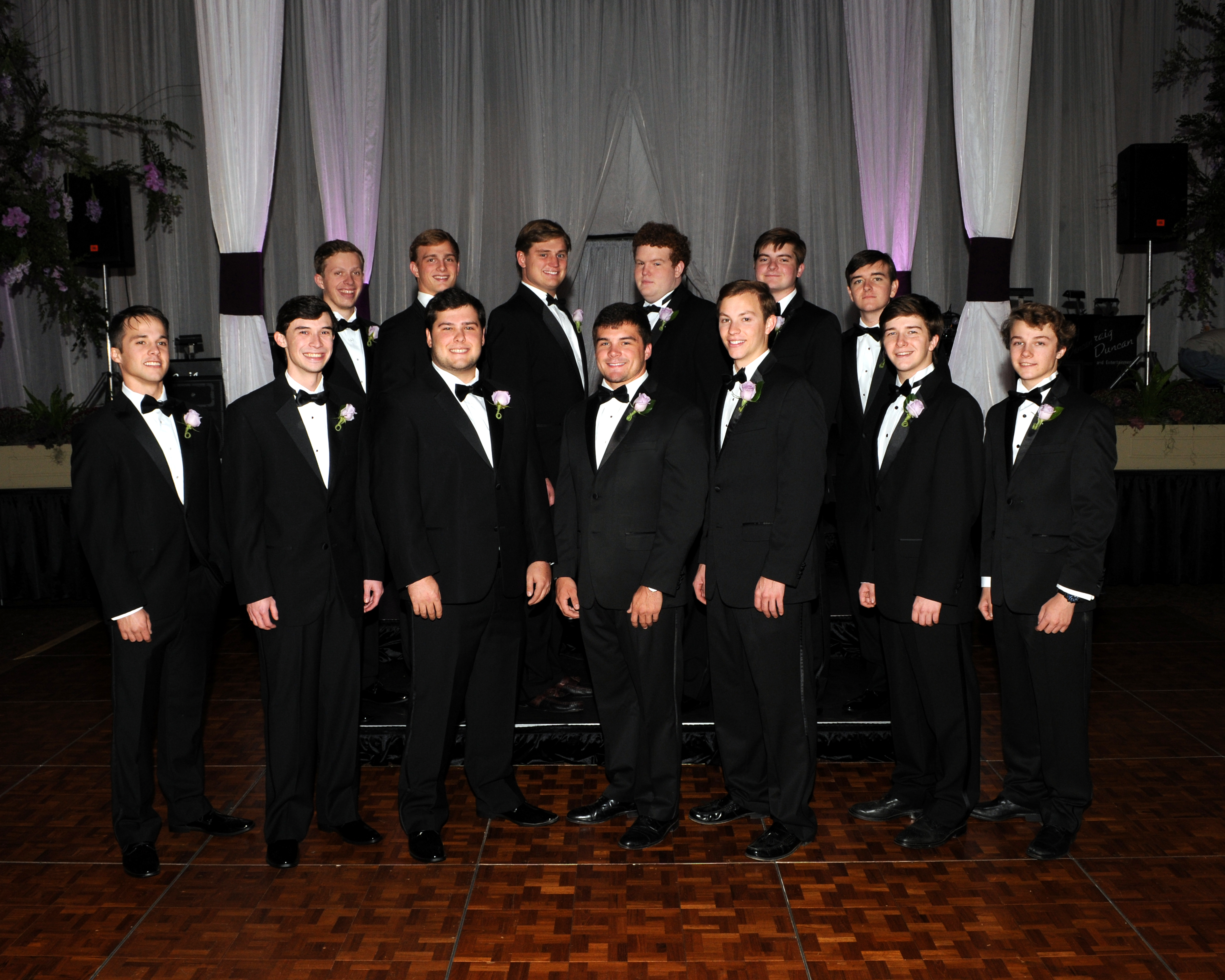 Front Row (left to right): Seth Couch, Ryan Trimble, Justin Teets, Dane Block, John Scoggins, Shelby Christian, William Christian | Back Row (left to right): Jacob Bourland, Eli Reynolds, Chad Caudle, Robert Walker, Carter Lockwood, Ian Taylor